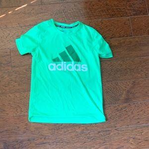Adidas dry fit short sleeve shirt athletic